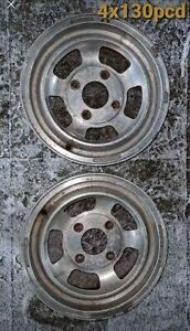 Wolfrace Superslot alloys x2  4x130