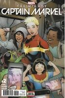 Mighty Captain Marvel Comic 2 Cover A Elizabeth Torque First Print 2017 Stohl