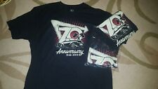 IN-N-OUT BURGER 70TH ANNIVERSARY T-Shirt XXL *BLACK* NEW!!