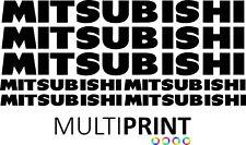 More details for mitsubishi forklift vinyl decals sticker kit forklift truck - spare parts mit2