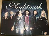 ⭐⭐⭐⭐  Nightwish  ⭐⭐⭐⭐  Rob Zombie  ⭐⭐⭐⭐  1 POSTER  SIZE 45 cm x 58 cm ⭐⭐⭐⭐