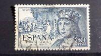 Sello España usado edifil 1115 azul oscuro 2,3 pesetas