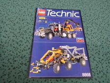 LEGO Technic Bauanleitung Instruction - 8868 Airtech Claw Rig Pneumatik Kran