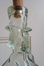 Abraham Lincoln Shape Glass Bottle - vintage, unique