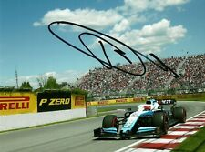 Robert Kubica 2019 Canadian Grand Prix signed photo F1 Williams FW42