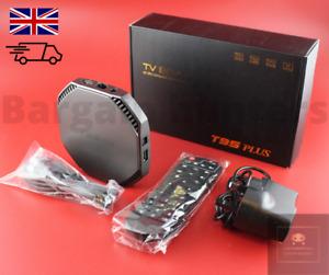 T95 Plus Android 11.0 TV Box UK 8GB+64GB RK3566 Bluetooth 8K Quadcore 5G WiFi