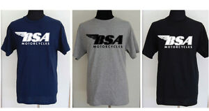 BSA motorcycle t-shirt - SMALL to 5XL