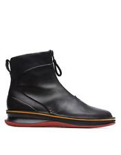 Camper Rolling K400502-001 Women Boots Calfskin Black
