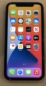 TESTED BLACK CDMA + GSM UNLOCKED APPLE iPhone 11, 128GB A2111 MWLE2LL/A J250T
