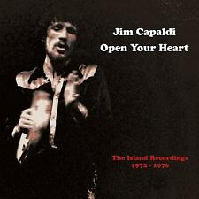 JIM CAPALDI Open Your Heart RECORDINGS 72 - 76 3CD/DVD SET   (25THMAR) NEW