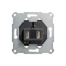 Universal USB-Spannungsversorgung Ladestation 2-fach Einsatz Unterputz