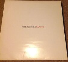"Killing Joke - Sanity - 12"" Single - Promo Copy - GC/VGC- [EGOX 30]"