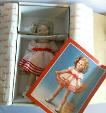 """SHIRLEY TEMPLE Danbury Mint """"STAND UP AND CHEER"""" 14"""" Doll SILVER SCREEN 1990 NIB"""