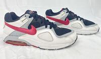 Nike Air Max Women's Running Shoes US 11 EUR 43 White Black Pink 432088-101
