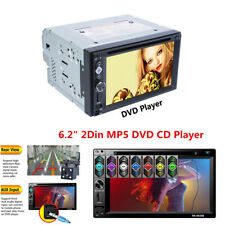 """6.2"""" 2 DIN Touch Screen Car Stereo MP5 DVD CD Player Bluetooth FM /USB/ TF/ AUX"""