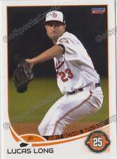 2017 Bowie Baysox Lucas Long RC Rookie Baltimore Orioles