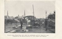 SANTA ROSA CA - Fourth Street After 1906 Earthquake and Fire - udb