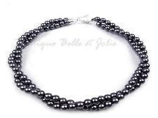 Markenlose Modeschmuck-Ketten mit Perlen