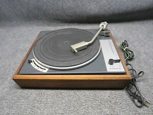 Vintage Bogen B62 Lenco L70 Stereo / Mono Turntable Record Player *Working*