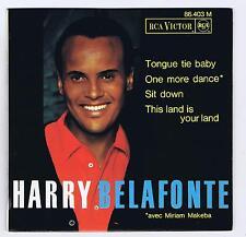 45 RPM EP HARRY BELAFONTE & MYRIAM MAKEBA