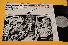 ERIC BURDON LP DERNIÈRE TRANSMISSION ORIG GERMANY BANDE DESSINÉE COVER+INNER