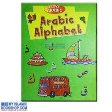 I LOVE ARABIC: ARABIC ALPHABET GOODWORD BOOKS ISLAMIC MUSLIM CHILDREN KIDS GIFT