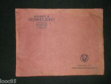 ancien catalogue n°8  E.V. Sièges et Meubles d'Art - art déco marqueterie...