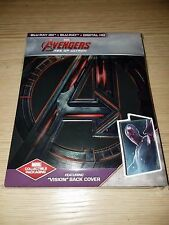 Avengers: Age of Ultron Steelbook (Blu-ray 3D/2D) Best Buy Vision version Mint