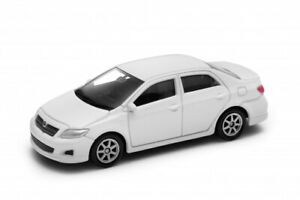 "2007 Toyota Corolla Sedan White, Welly 1:60 1:64 No. 52292 3"" inch Toy Car Model"