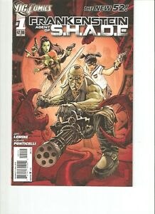 Frankenstein Agent of SHADE #1 New 52 (2011) Second Printing (9.0) VF/NM