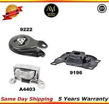 Engine Mount K990 Fit 04-09 Mazda 3 w/o Turbo/ 06-10 Mazda 5, 2.3L  3PCS