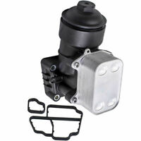 OIL FILTER HOUSING & COOLER for AUDI A3 A4 A5 VW CC Golf Passat 1.6 2.0 TDI