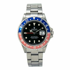 Rolex GMT-Master II 16710T Pepsi Men's Automatic Watch Stainless Black Dial 40MM