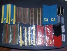 Russian Military Shoulder Boards Epaulets and East German Military