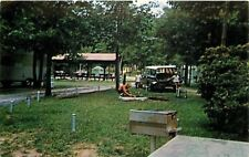Trenton GA~Cloudland Canyon State Park~Family Camping~Tent~Shelter~Grill~1950s