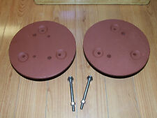 Dixon VINTAGE LAWN TRACTOR Wheel Weights Used 20 Pounds EACH  Fits 3000 Series