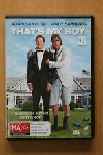 That's My Boy (DVD, 2012)      Preowned (D190)