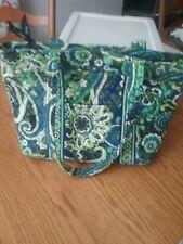 VERA BRADLEY Purse MANDY Tote  Bag RHYTHM & BLUES Flower Paisley