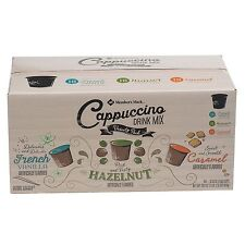 Members Mark Cappuccino Variety Pack 54 K-Cups French Vanilla Hazelnut Caramel