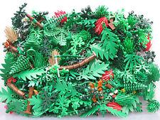 LEGO Bulk lot FOLIAGE Trees Bushes Plants 1/8 lb (2 oz) avg 40 pcs per lot