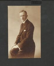 Edwardian, Cabinet Card,    handsome young guy,