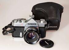 KONICA AUTOREFLEX T + KONICA HEXANON 1,8 de 52 mm. Superbe !