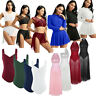 Women Adult Gymnastics Leotard Dress Skirts Ballet Skating Dance Stage Costume