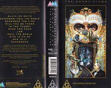 Michael Jackson Dangerous The Short Films PAL Video VHS