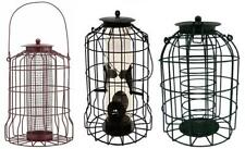 SQUIRREL PROOF HANGING WILD BIRD FEEDERS FEEDING GARDEN FAT BALL SEED NUT NEW