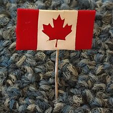Canada flag Canadian flag, Made in Canada, antique pin, badge !