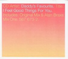 Daddy 's Favourite I feel good things for you (1998) [Maxi-CD]