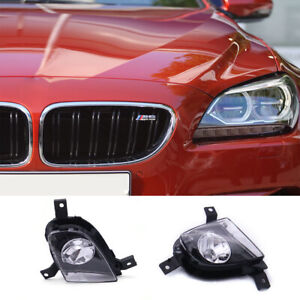 For BMW E90 E91 328i 335i 09-11 Front Bumper Replace Clear Fog Lights Lamps Set