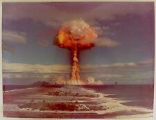 Essai Nucléaire - Atoll de Mururoa 30 octobre 1971 - Epreuve argentique d'époque