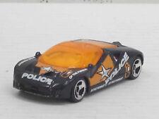 """Ford GT 90 in schwarz """"Police"""" mit Dekorstreifen, ohne OVP, Hot Wheels, 1:64"""